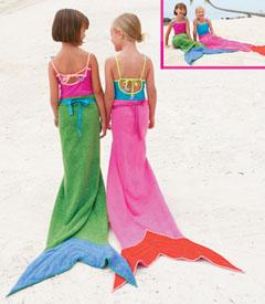 lil Find: Mermaid Towels