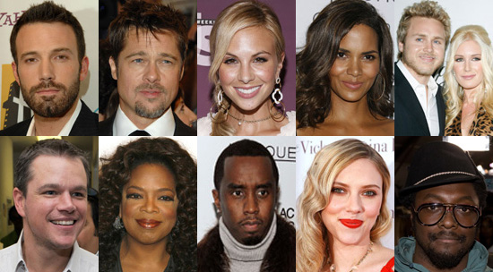 Who Is Your Favorite Celebrity Campaigner?