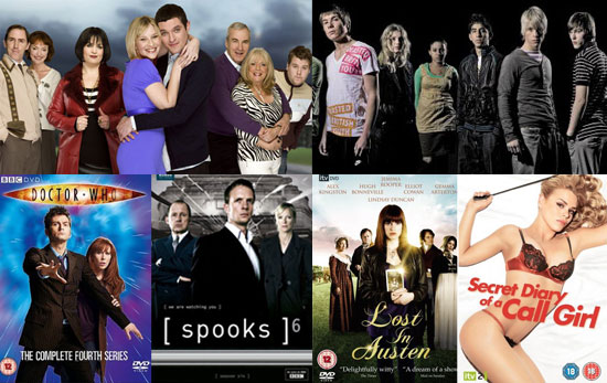 Which Is Your Favourite British TV Show Of 2008?