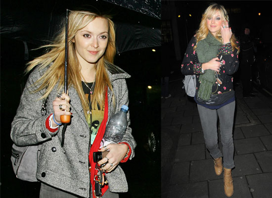 Photos Of Fearne Cotton In London, Plus Lineup For Top Of The Pops Christmas Special 2008