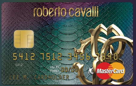 Roberto Cavalli Launches Credit Card