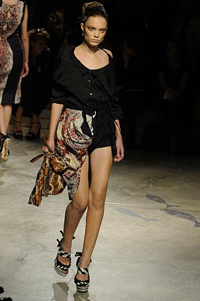 Miuccia Prada Goes Fishing for Crumpled Clothes