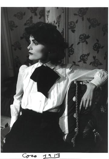 Edita Vilkeviciute as Coco Chanel in 1913.