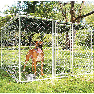 MIDWEST Portable Chain Link Dog Kennels - Houses & Outdoor Kennels - PetSmart