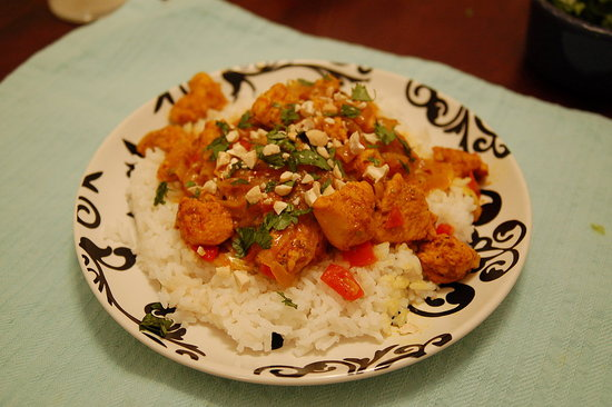 Chicken Curry from Williams-Sonoma's Asian cookbook.