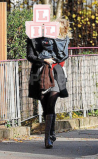 Gwyneth Paltrow and Moses Martin Walking