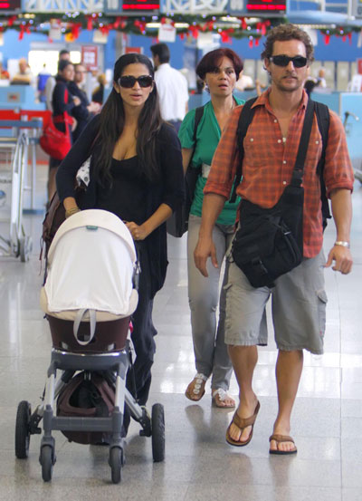 Matthew and Camila Spend Time With Family
