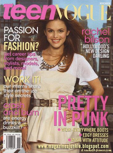 Teen Vogue - November 2008