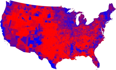2008 Presidential Election Maps