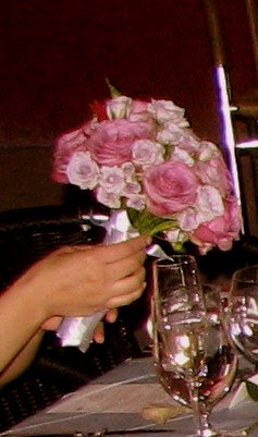 The gorgeous sterling silver rose bouquet, thank you John James!!!