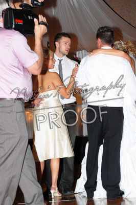 Pictures of Justin from Nick Bomar's Wedding in July