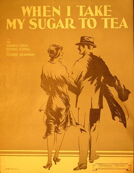 Collecting Tea Sheet Music