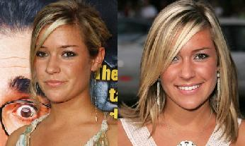 Kristin Cavallari and Morgen from The Baby Borrowers - Separated At Birth?