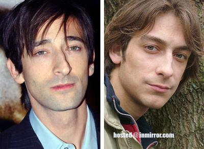 Adrien Brody and Artem Tkachenko -- Separated at birth?