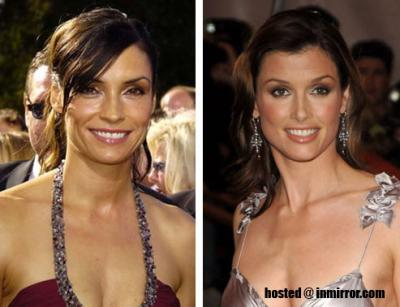 Famke Janssen and Bridget Moynahan -- Separated at Birth?