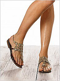 Victoria's Secret : Chandelier thong sandal