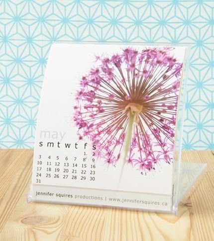 Etsy Find: Jennifer Squires 2009 Photo Desk Calendar