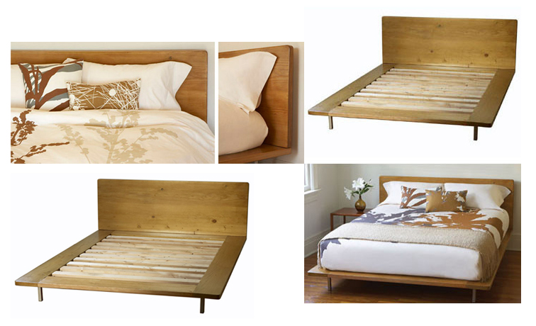Nice and new amenity muir bed popsugar home for Nice bed frames