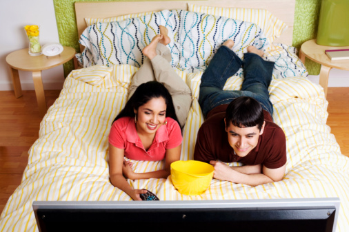 Open House:  What's Your Take on TVs in the Bedroom?