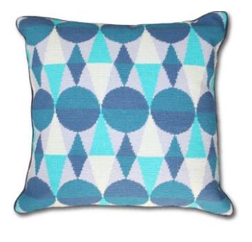 Nice and New: Jonathan Adler Harlequin Pillow