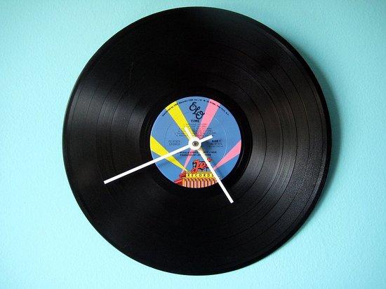 Etsy Find: ELO Vinyl Record Clock