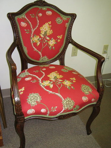 Vintage Chair Re-Upholstered!