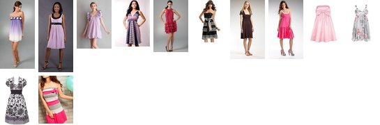 Some dresses that i ♥