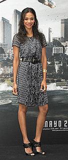 Celeb Style: Zoe Saldana