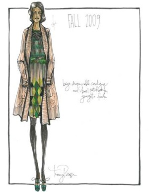 Fashion Week Quickie: Tracy Reese Goes Eclectic