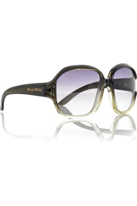 Miu Miu Oversize Square Sunglasses ($195)