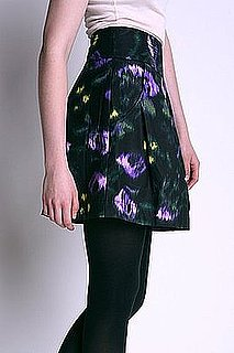 Fab Finger Discount: Silence and Noise Printed Poplin Skirt