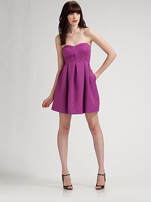 Fab Celebrates Spring With Saks: Win a Modern Romance Rebecca Taylor Frock!