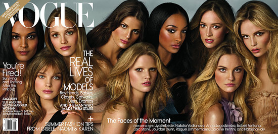Vogue's Gatefold May 2009 Cover Shot by Steven Meisel