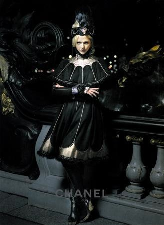 Sasha Pivovarova Models in Chanel's Russian-Inspired Pre ...