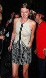 Nicky Hilton Wears Vena Cava's Gap Design Editions' Khaki Zip Tribal Dress