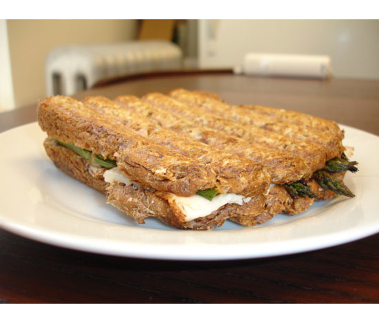 Truffled Grilled Cheese With Asparagus