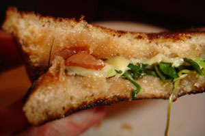 Sweet Summer Grilled Cheese
