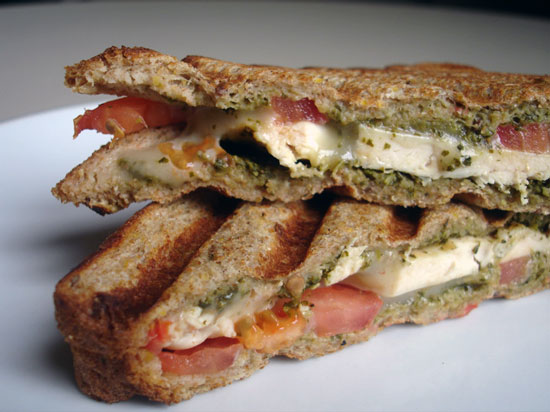 Recipe For Cilantro Pesto Chicken Panini