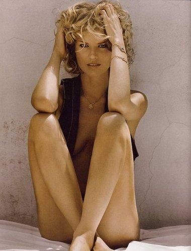 Eva Herzigova - Vogue Spain August 2009