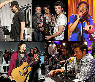 Photos of Grammy Nominees and Performers at Preparties in LA