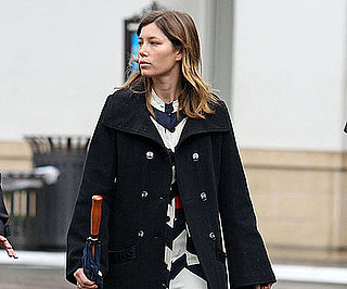 Photo of Jessica Biel Shopping at The Grove in LA on Friday
