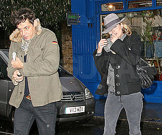Photo of Kate Moss and Jamie Hince Out in London