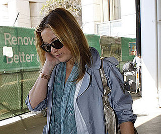 Photo of Kate Hudson Arriving Back at LAX with Owen Wilson