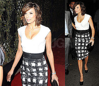 Photos of Eva Longoria at Beso Restaurant, Video of Her on Rachael Ray Talking About Constant Honeymoon with Tony Parker