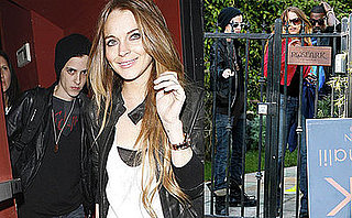 Photos of Lindsay Lohan Out in LA with Samantha Ronson and Kanye West
