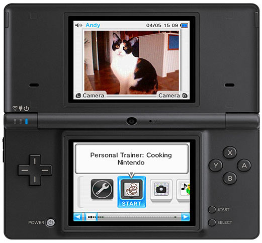 More DSi Details Announced at The 2009 Game Developers Conference