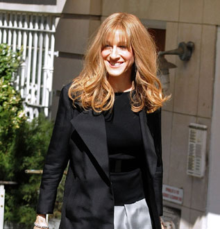 Photos of Sarah Jessica Parker and Hugh Grant Filming Did You Hear About the Morgans in NYC