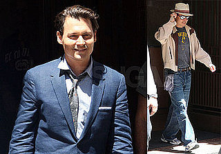 Photos of Johnny Depp in Puerto Rico, Will Soon Be Voicing a SpongeBob SquarePants Episode