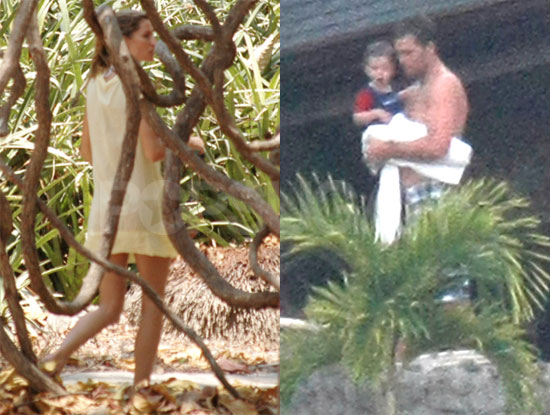 Tom and Gisele in Costa Rica