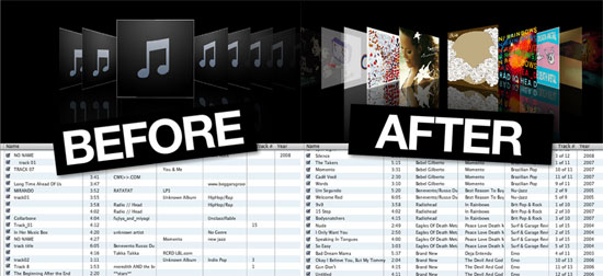 Let TuneUp Find Song Info and Album Art For Your iTunes Library